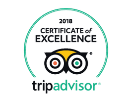 Trip Advisor Badge 2018