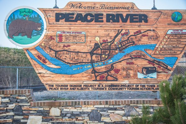 Peace River Sign